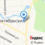 Краснооктябрьская участковая больница на карте Йошкар-Олы