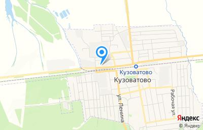 Местоположение на карте пункта техосмотра по адресу Ульяновская обл, рп Кузоватово, ул Советская, зд 5А