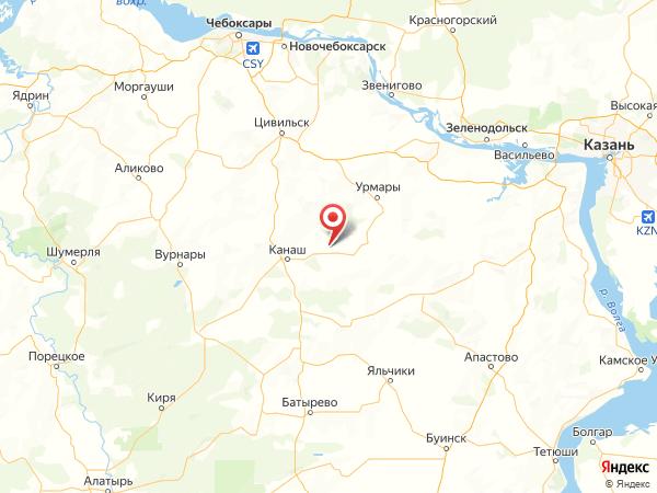 деревня Норваш-Кошки на карте