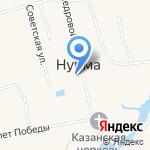 Администрация Нурминского сельского поселения на карте Йошкар-Олы