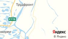 Отели города Чулпан на карте