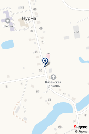 Сладкий на карте Нурмы