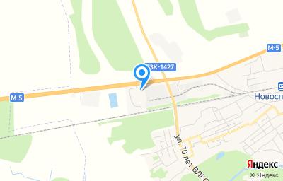 Местоположение на карте пункта техосмотра по адресу Ульяновская обл, рп Новоспасское, ул Заводская, д 53
