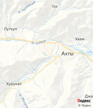 карта-схема района