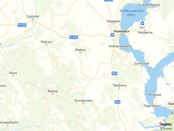 поселок Искра на карте