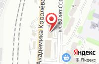 Схема проезда до компании Техавтоцентр в Балаково