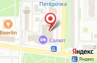 Схема проезда до компании Моби в Балаково