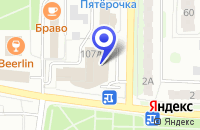 Схема проезда до компании ШВЕЙНЫЙ МИР в Балакове