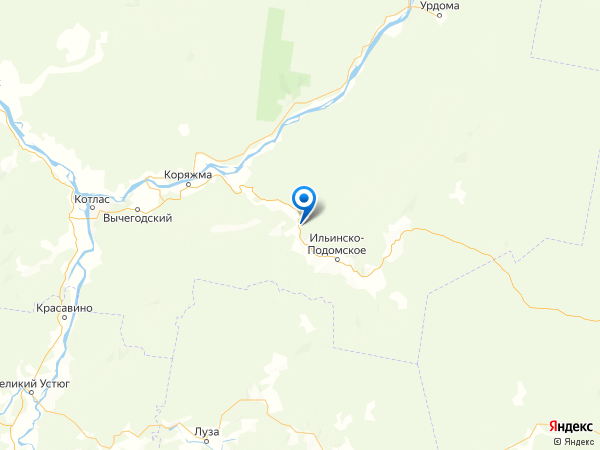 поселок Выставка Горбачихи на карте