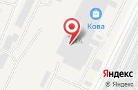 Схема проезда до компании Татметлом в Медведево