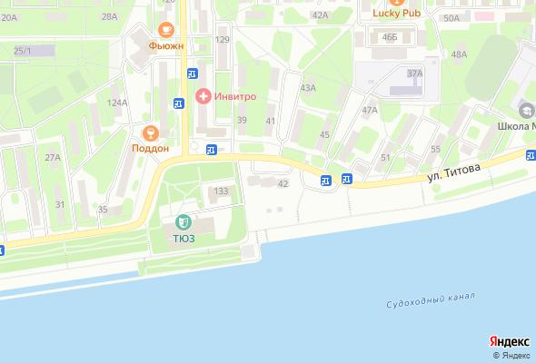жилой комплекс ул. Титова
