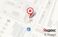 Схема проезда до компании Анвер в Медведево