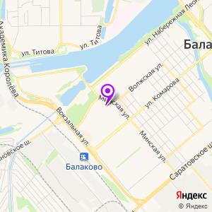 МРТ-ЭКСПЕРТ Балаково на карте