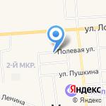 Медведевская районная станция по борьбе с болезнями животных на карте Йошкар-Олы