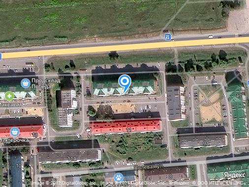 Продается 2-комнатная квартира, 59 м², Йошкар-Ола, Полевая,Медведево, 9