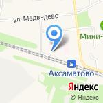 Автобусы. Микроавтобусы на карте Йошкар-Олы