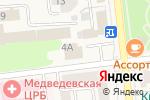 Схема проезда до компании Оливия в Медведево