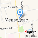 Нотариус Воронцова Н.Ю. на карте Йошкар-Олы