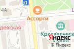 Схема проезда до компании Qiwi в Медведево