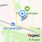 Детская библиотека пос. Медведево на карте Йошкар-Олы
