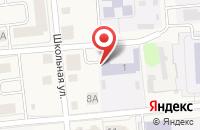 Схема проезда до компании Медведевский детский сад №4 в Медведево