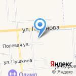 Медведевская центральная районная больница на карте Йошкар-Олы