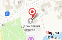 Схема проезда до компании Воскресная школа в Медведево