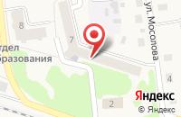 Схема проезда до компании Детская библиотека пос. Медведево в Медведево