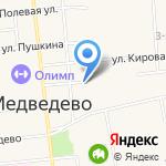 Коллегия адвокатов Медведевского района Республики Марий Эл на карте Йошкар-Олы