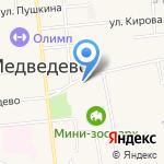 Прокуратура Медведевского района на карте Йошкар-Олы