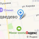 Медведевский районный суд на карте Йошкар-Олы
