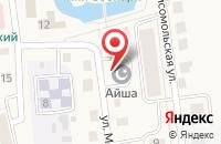 Схема проезда до компании Гайша в Медведево