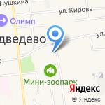 Первая коллегия адвокатов Медведевского района республики Марий Эл на карте Йошкар-Олы