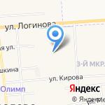 Медведевская средняя общеобразовательная школа №3 им. 50-летия Медведевского района на карте Йошкар-Олы
