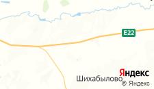 Отели города Андреево-Базары на карте