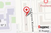 Схема проезда до компании Магазин одежды в Медведево