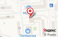 Схема проезда до компании Расческа в Медведево