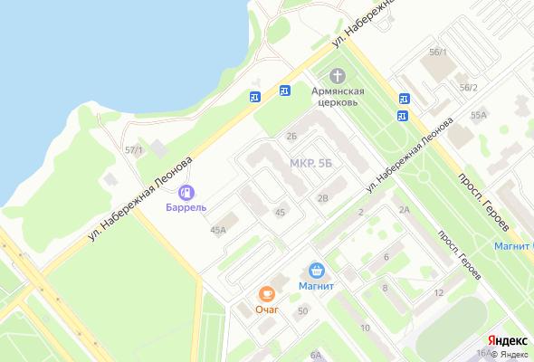 жилой комплекс наб. Леонова