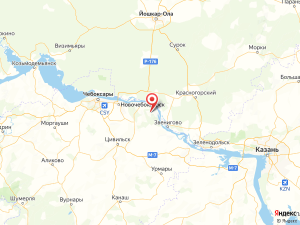 деревня Дубовка на карте