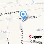 Служба эвакуации автомобилей на карте Йошкар-Олы