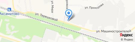 Натяжные потолки+монтаж на карте Йошкар-Олы