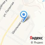 Новоарбанская средняя общеобразовательная школа на карте Йошкар-Олы