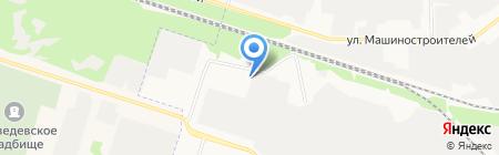Ильканд на карте Йошкар-Олы