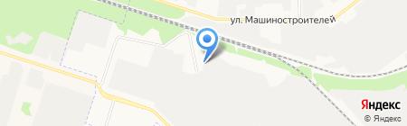 Сингл на карте Йошкар-Олы