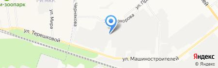 Марпромвентиляция на карте Йошкар-Олы