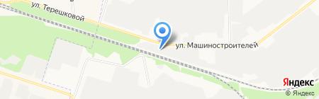 Автосервис GoodWIN на карте Йошкар-Олы