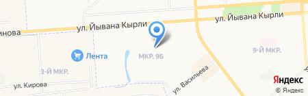 Экспресс-замена масла на карте Йошкар-Олы