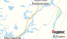 Отели города Ново-Булгары на карте