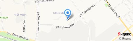 Актюбе на карте Йошкар-Олы