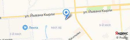 Тим-Профф на карте Йошкар-Олы